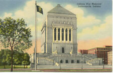 OLD POST CARD USA ETATS-UNIS INDIANAPOLIS INDIANA WAR MEMORIAL
