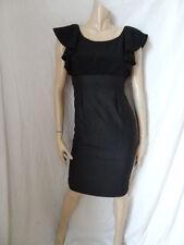 (16APR) Size 8 *PER UNA* Chic black/grey shift dress ladies/womens