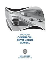 COMMERCIAL DRIVER MANUAL FOR CDL TRAINING (MICHIGAN) ON CD IN PDF PROGRAM.