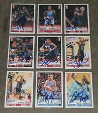 2017 RITTENHOUSE WNBA 87/110 SIGNED CARD BASKETBALL SET NEARLY COMPLETE!
