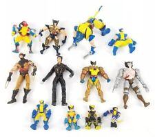 (Lot of 12) Wolverine Marvel X-Men Action Figures Transformer Collectible Vtg