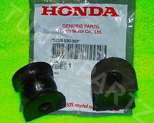 2 NEW OEM Honda Acura Rear Sway Bar Bushing Stabilizer Holder Civic Rsx Integra