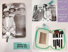 MAKE-UP BRUSH SET Blush Lip Eye Brow Sponge VINTAGE B&W PHOTOGRAPH 1927 Gift