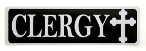 CMG-3 Clergy Car Magnet
