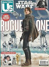 US Magazine Collector's Edition Star Wars Rogue One Felicity Jones 3 POSTERS NEW