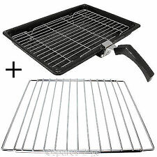 Grill Pan + Handle + Rack + Adjustable Extendable Shelf for AEG Oven