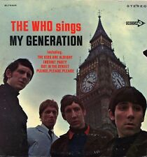 """THE WHO """"SINGS MY GENERATION"""" ORIG US STEREO 1966 VG+/EX"""