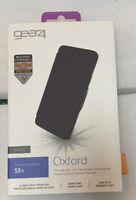 New Gear4 Oxford Folio Case Advanced Impact Protection D3O Galaxy S9 Plus -Black