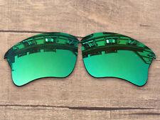 Vonxyz Polarized Lenses for-Oakley Flak Jacket XLJ Sunglass Jade IridiumCoat