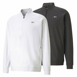 New Puma CLOUDSPUN Moving Day Golf 1/4 Zip Pick Size & Color