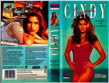 CINDY CRAWFORD. MODELA TU CUERPO ENJOY VIDEO MUJER REVISTA WOMAN SUPER MODEL VHS