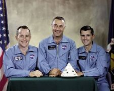 Apollo 1 Crew NASA Astronauts Gus Grissom Ed White Roger Chaffee Photo Print
