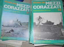 LOTTO 90 FASCICOLI VOLUMI STORIA DEI MEZZI CORAZZATI FABBRI 1976 1° EDIZIONE