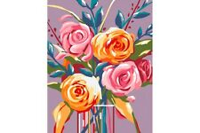 PAINT BY NUMBERS KIT GENTLE ROSES