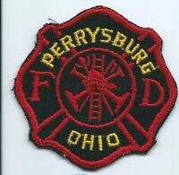 Warrensville Hts FD fireman patch 3 in dia Cheesecloth #813