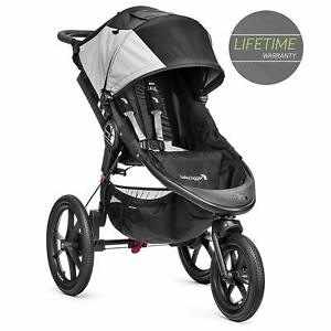 Baby Jogger Summit X3 Single Stroller, Black/Gray - New with Tags!! (Open box)