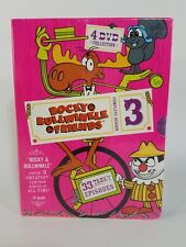 The Rocky  Bullwinkle Show - Complete Season 3 (DVD, 2005, 4-Disc Set)