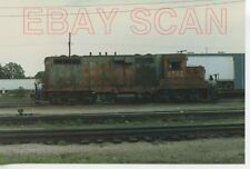8A760  RP 1980s ILLINOIS CENTRAL GULF RAILROAD ENGINE #8742