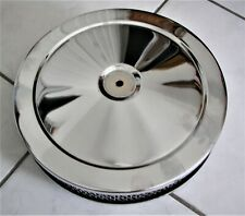 10 inch  Chrome air cleaner USED