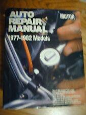 Motor Auto Repair Manual: 1977-1982