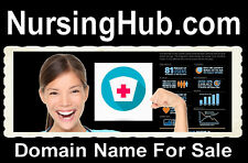 Nursing Hub. com  Domain Name For Sale Online Study Degree Support Campus locate