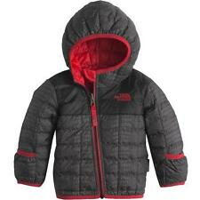 nwt THE NORTH FACE sz 0-3 m boys REVERSIBLE THERMOBALL Jacket crock print to red