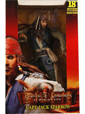 "NECA Pirates of Caribbean AT WORLD'S END JACK SPARROW 18"" Figure W/ Sound worlds"