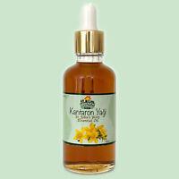 Organic St. John's Wort Oil (1.69oz / 50ml) - Kantaron Yagi - Same Day Shipping