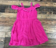 NWT Gymboree Pink Off Shoulder Sundress Summer Dress Girls 6-12 M