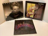 80s Rock Vinyl LP Lot Bryan Adams Reckless The Fixx Phantoms John Fogerty