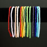 Crystal Beads Stretch Ankle Bracelet