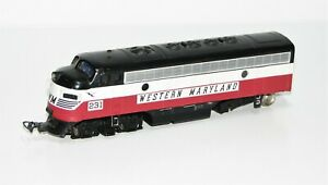 "Bachmann H0 11228 Diesellok EMD F7 Western Maryland 231 ""ohne Motor"" KK56"