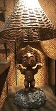 DISNEY Polynesian Village Resort TIKI LAMP Maui God TRADER SAM'S Grog Grotto NEW