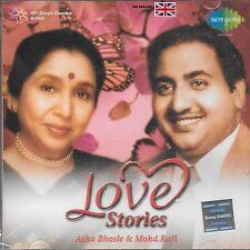 Asha Bhosle & mohd. RAFI - Love Stories - Bollywood 2CDs SET