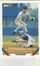 FREE SHIPPING-MINT-1993 Topps San Diego Padres Baseball Card #84 Kurt Stillwell
