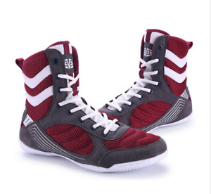 Men Boxing Wrestling Shoes Breathable MMA Shoes