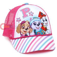 Paw Patrol Girls Cap Adjustable Meshback Baseball Cap Skye Everest Pink