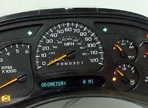 0 miles 06 - 07 Silverado GMС Sierra Classic Reman Instrument Panel Cluster OEM