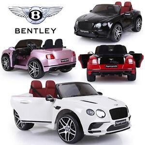 Kids Licensed Bentley Continental Supersports 12V Electric Ride On Car