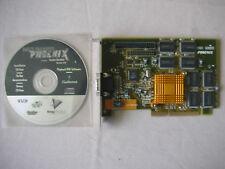 VooDoo BANSHEE 3Dfx Maxi Gamer Phoenix Guillemot 600-0043-01 16MB AGP + CD Drive