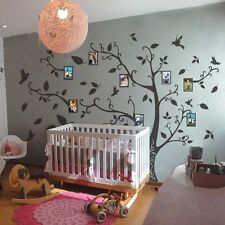 Family Memory of Tree Bird Wall Decal Inspirational Vinyl Removable Decor Large