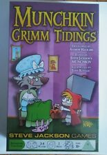 MUNCHKIN Grimm Tidings Steve Jackson Games Card Game 1st Edition 2016 New In Box