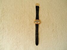 """Vtg Disney Pocahontas Racoon Shaped Head Wrist Watch """" Great Rare Collectible """""""