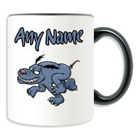 Personalised Gift Running Zombie Dog Mug Money Box Cup Walking Dead Devil Pets