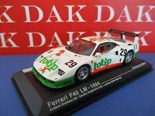 Die cast 1/43 Modellino Auto Ferrari F40 LM Totip 24H Le Mans 1994