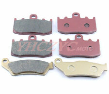 Front Rear Motor Brake Pads For BMW R1200GS 04-09 R1200RT R1200ST R1200S R1200R