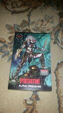 "NECA Alpha Predator 100th Edition Ultimate 7"" Action Figure W/Code Stock"