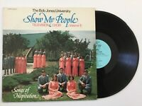 THE BOB JONES UNIVERSITY TELEVISION CHOIR Vol. II Show My People LP+bonus CD