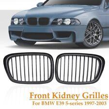 Carbon Fiber Kidney Grill Grille For BMW E39 525 528 530 535 540 M5 1997-2003