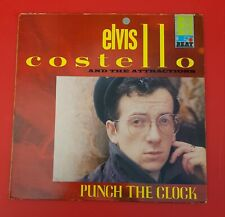 Elvis Costello & The Attractions Vinyl Lp Punch The Clock